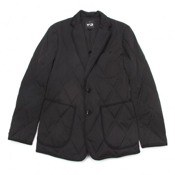 新品!ワイスリーY-3 プリマロフトダイヤキルティングテーラードジャケット 黒XS