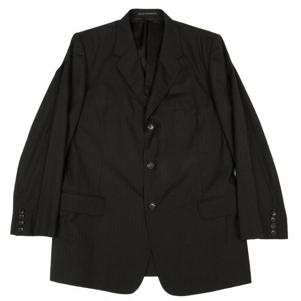 ワイズフォーメンY's for men ストライプ3Bジャケット 黒紺エンジ他4【中古】 【メンズ】