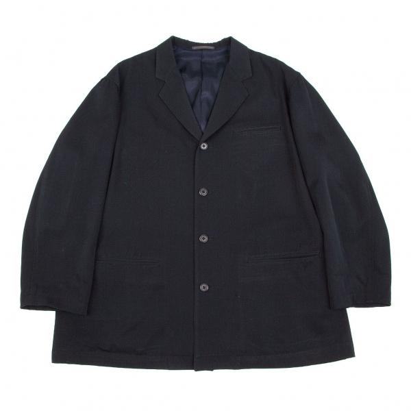 ワイズフォーメンY's for men ウールギャババックヨークジャケット 紺S【中古】 【メンズ】