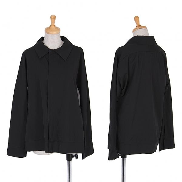 ワイズY's 裁ち切りウールギャバジャケット 黒3【中古】