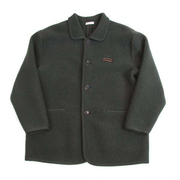パパスPapas 圧縮ウールジャケット 深緑XL位【中古】 【メンズ】