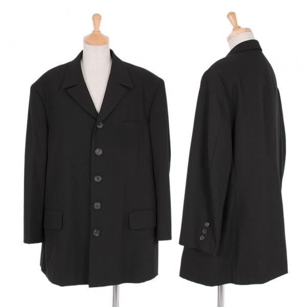 ワイズY's ウール4Bジャケット 黒M位【中古】