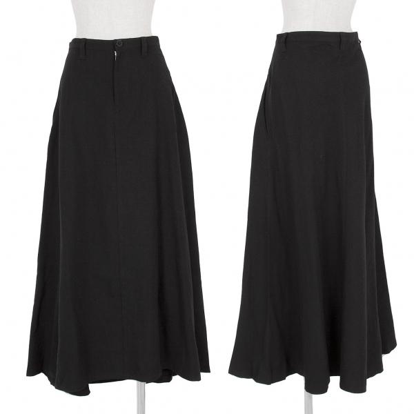 ワイズY's フレアーウールスカート 黒3【中古】