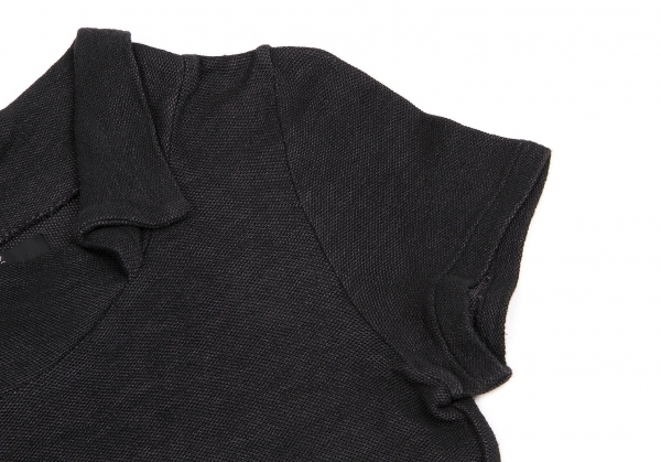 ワイズY's 変形襟カットソー 黒3レディースR34Aq5Lj