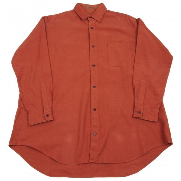 ワイズフォーメンY's for men 長袖ネルシャツ 橙L位【中古】 【メンズ】