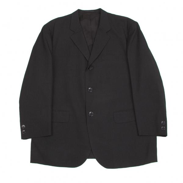 ワイズフォーメンY's for men ノッチドラペルウール3Bジャケット 黒S 黒S【中古】 【メンズ】