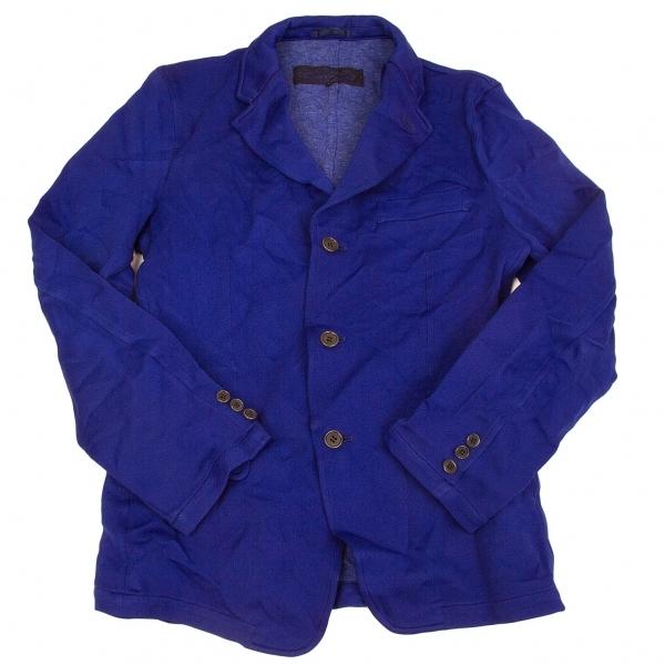 コムデギャルソン オムCOMME des GARCONS HOMME ポリ製品染めジャケット 青S【中古】 【メンズ】