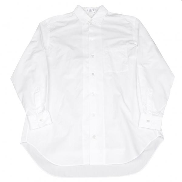 ヨウジヤマモト プールオムYohji Yamamoto POUR HOMME コットンシャツ 白M【中古】