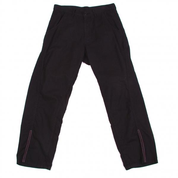 ワイズY's コットンバックデザインポケットパンツ 黒1【中古】