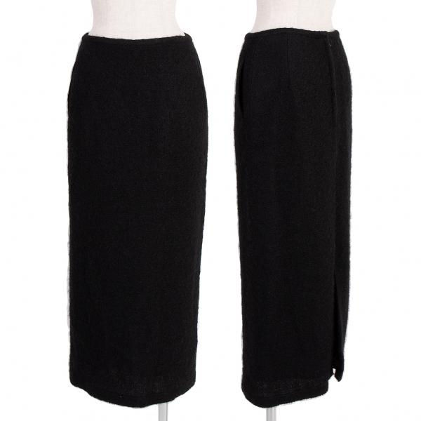 ワイズY's ウール混起毛スカート 黒M位【中古】