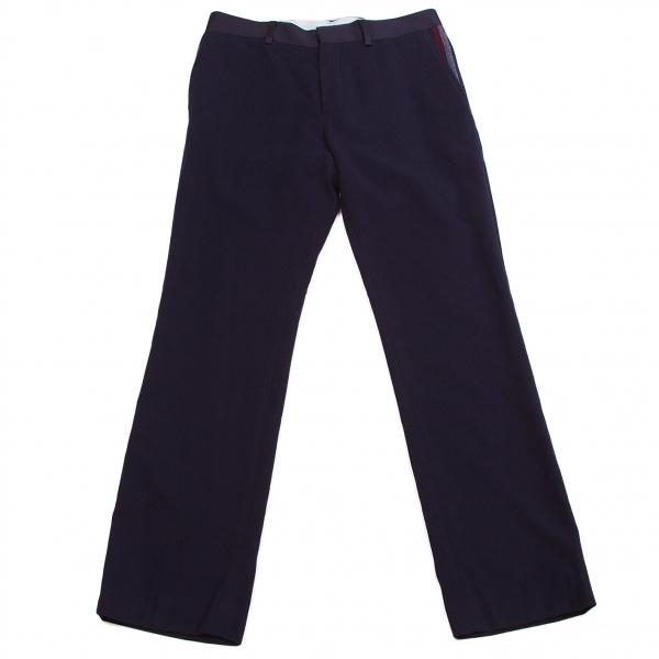【SALE】ワイズY's ポケットラインテーパードパンツ 紺2【中古】 【レディース】