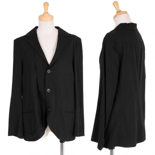 ワイズY's ウール3Bジャケット 黒1【中古】