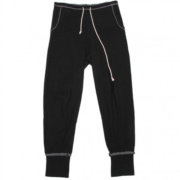 ワイズY's スウェットデザインパンツ 黒チャコール2【中古】 【レディース】