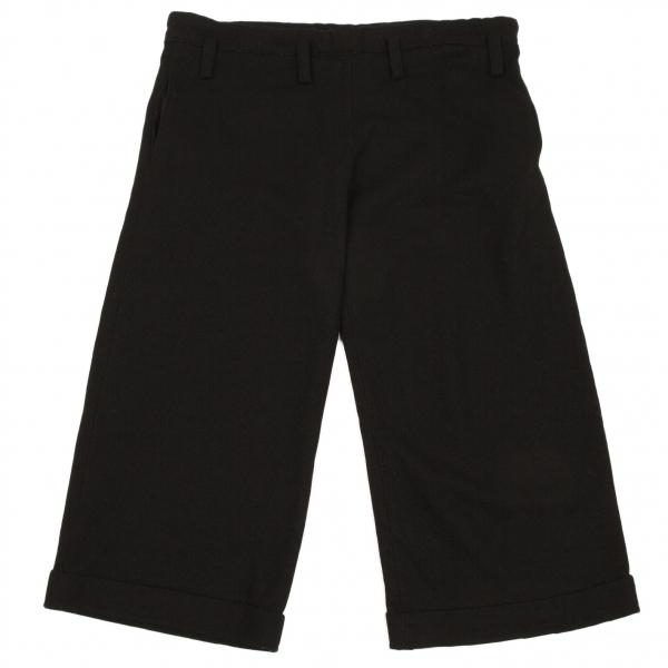 【SALE】ワイズY's フラノウールワイドパンツ 黒2【中古】 【レディース】
