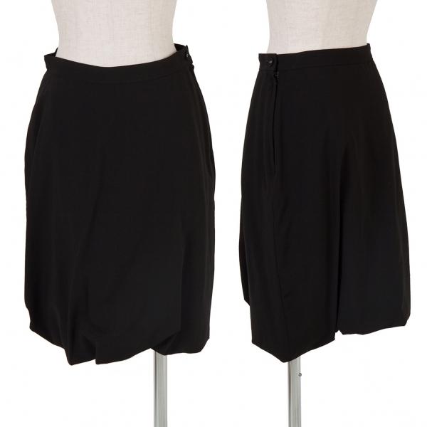 トリココムデギャルソンtricot COMME des GARCONS サマーウールバルーンスカート 黒M【中古】