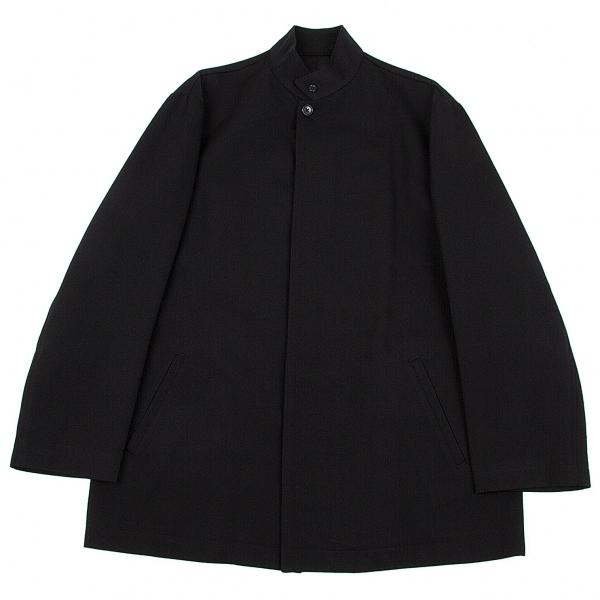 ワイズフォーメンY's for men ウールコットンスタンドカラーコート 黒3【中古】 【メンズ】