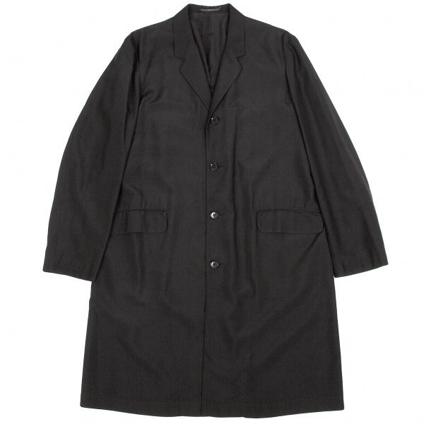 ワイズフォーメンY's for men 赤ラベル シルクショップコート 黒2【中古】 【メンズ】