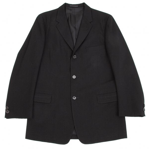 ヨウジヤマモト コスチュームドオムYohji Yamamoto COSTUME D' HOMME ウールギャバテーラードジャケット 黒3【中古】 【メンズ】