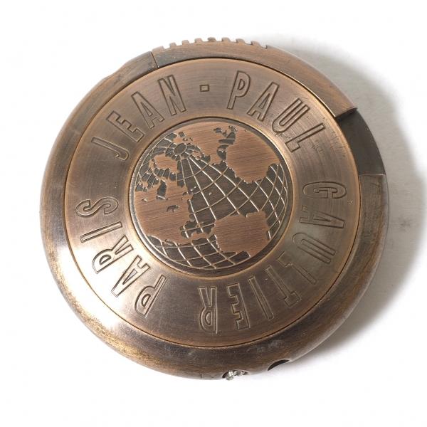 ジャンポールゴルチエJean Paul GAULTIER 円盤型ライター 【中古】