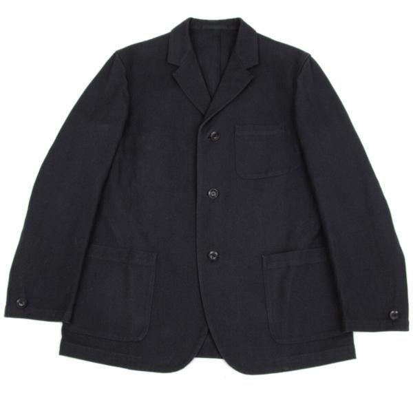 ワイズフォーメンY's for men 赤ラベル キャンバスコットン3Bジャケット 濃紺3【中古】 【メンズ】