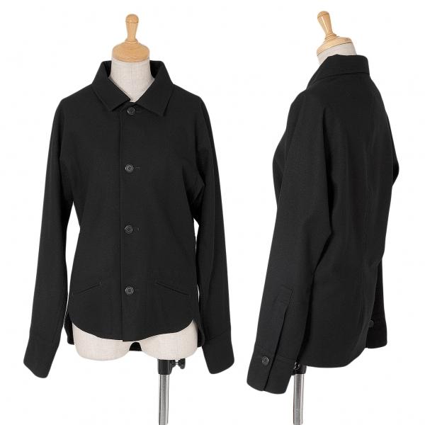 ワイズY's フラノドルマンシャツジャケット 黒1【中古】 【レディース】