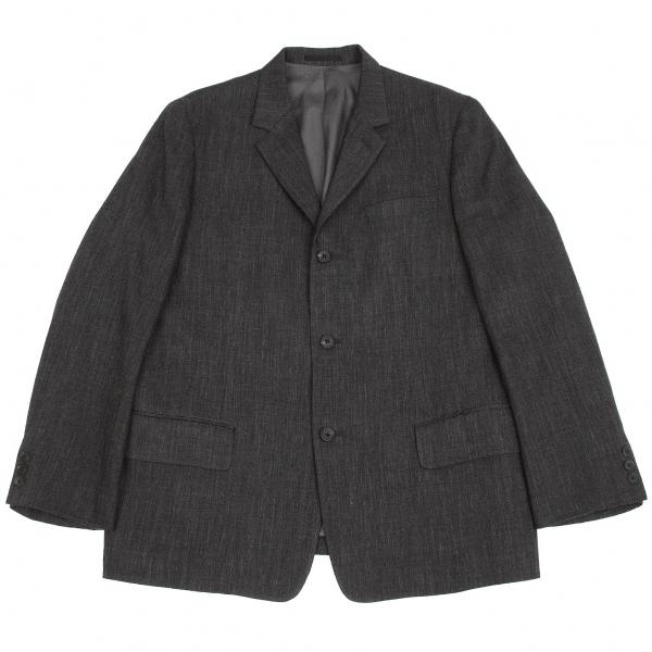 ワイズフォーメンY's for men 混紡3Bウールジャケット チャコールグレー3【中古】 【メンズ】