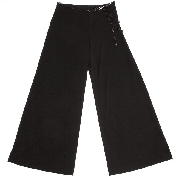 ジャンポールゴルチエ ファムJean Paul GAULTIER FEMME ウエストボタン装飾パンツ 黒40【中古】 【レディース】