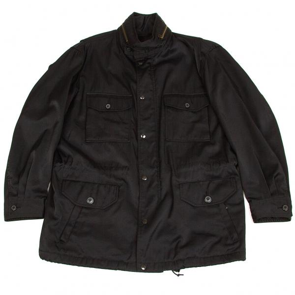 イッセイミヤケメンISSEY MIYAKE MEN M-65フィールドジャケット 黒M【中古】 【メンズ】