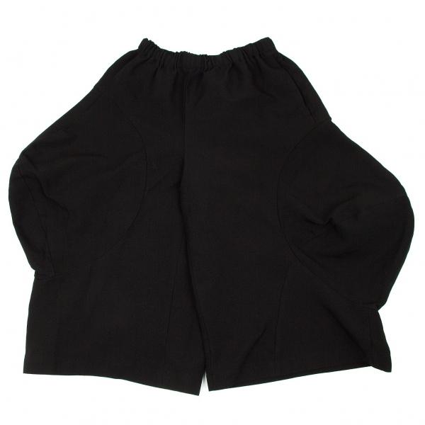 コムデギャルソンCOMME des GARCONS ポリ製品染め変形パンツ 黒XS【中古】