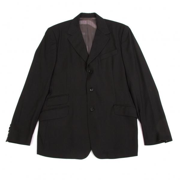 ディーアンドジーD&G スラントチェンジポケット3Bテーラードジャケット 黒40/54【中古】【メンズ】