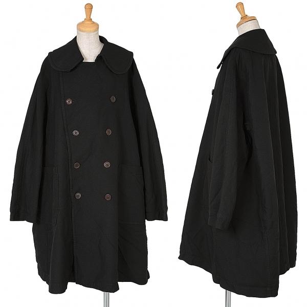 コムデギャルソンCOMME des GARCONS ポリ製品染め中綿コート 黒S【中古】 【レディース】