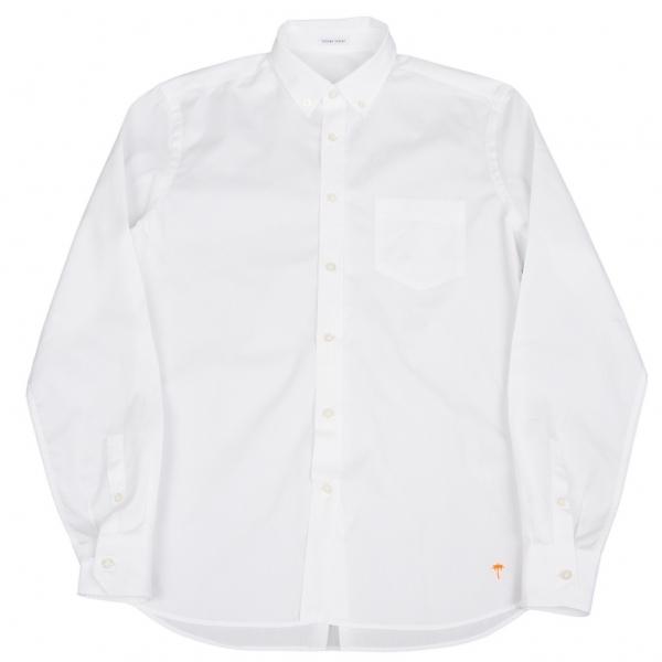 トーマスマイヤーtomas maier コットンボタンダウンカッターシャツ 白M【中古】 【メンズ】