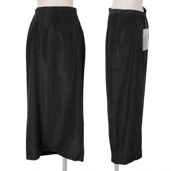 ヨウジヤマモト コスチュームYohji Yamamoto COSTUME プロミックスAラインスカート 黒2【中古】 【レディース】