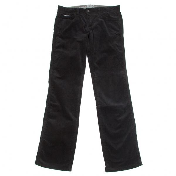 ディーアンドジーD&G コーデュロイスリムパンツ 黒31【中古】【メンズ】