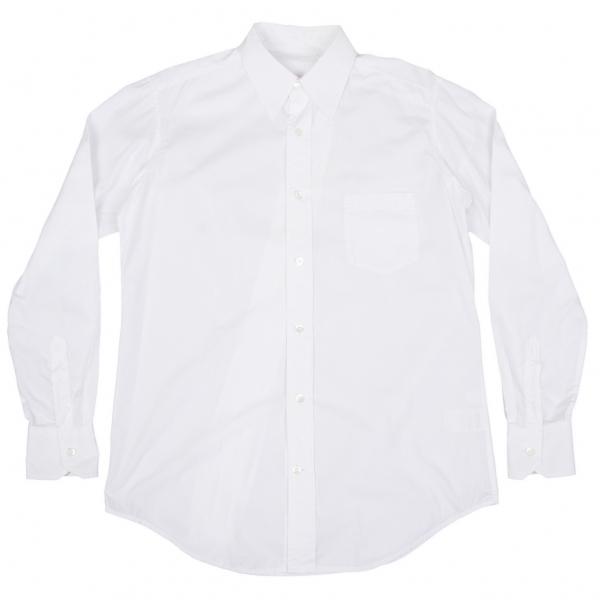 ワイズフォーメンY's for men コットンバック斜行切替ステッチデザインシャツ 白3【中古】 【メンズ】