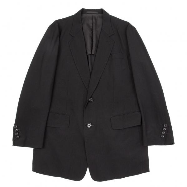 ワイズフォーメンY's for men ウールトロ斜め本切羽ステッチジャケット 黒3【中古】 【メンズ】