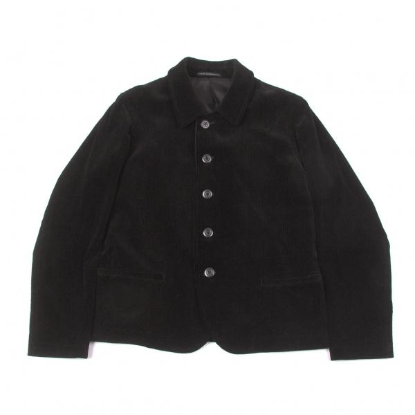 ワイズフォーメンY's for men コーデュロイカバーオールジャケット 黒3【中古】 【メンズ】