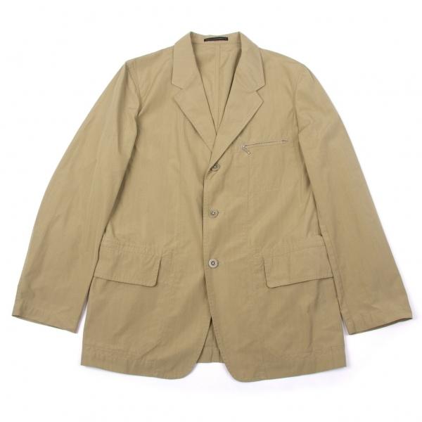 ワイズフォーメンY's for men コットンポリジップポケットジャケット カーキ2【中古】 【メンズ】