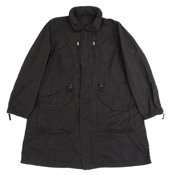 ワイズフォーメン×アスペジY's for men×ASPESI ポリナイロン製品染めコート 黒2【中古】 【メンズ】