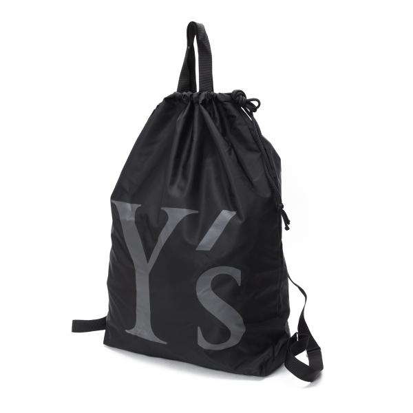 ワイズY's ナイロンバックパック 黒【中古】 【レディース】