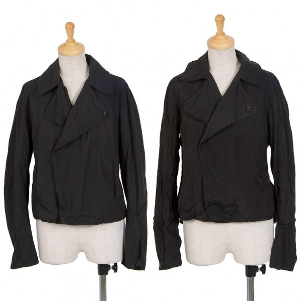 ワイズY's コットン製品染めリバーシブルスナップボタンジャケット 黒2【中古】 【レディース】