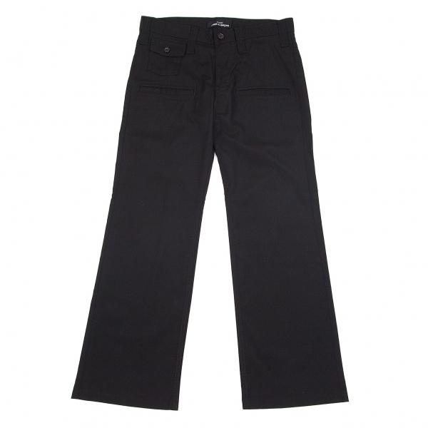 トリココムデギャルソンtricot COMME des GARCONS ウールレーヨンポケットデザインパンツ 黒M【中古】 【レディース】