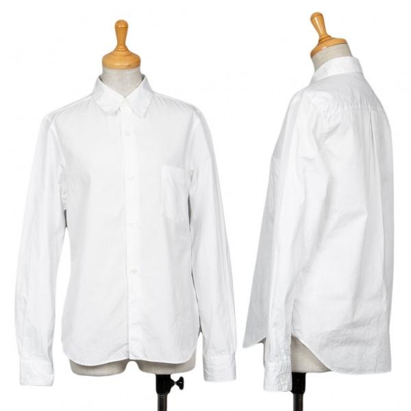 コムデギャルソンCOMME des GARCONS コットンベーシックシャツ 白S【中古】 【レディース】