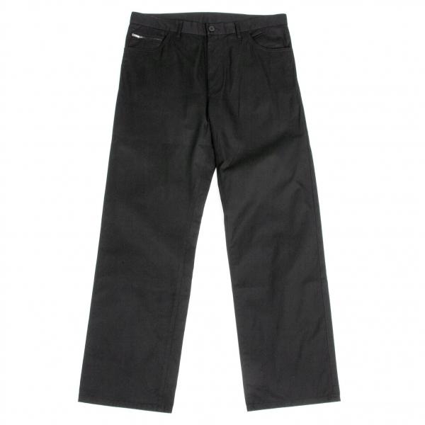 ワイズフォーメンY's for men コットン裏地ドットポケットジップパンツ 黒4【中古】 【メンズ】