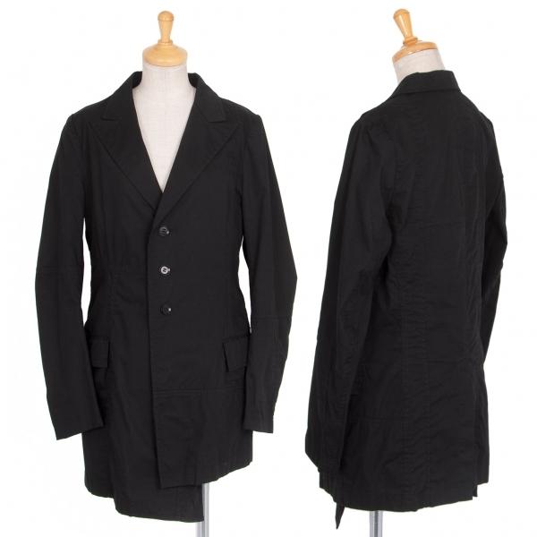 ワイズY's コットンブロード裾変形切替デザインジャケット 黒2【中古】 【レディース】