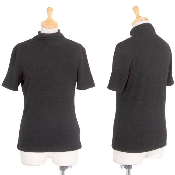 ヨーガンレールJURGEN LEHL ニットハイネックTシャツ 黒M【中古】 【レディース】