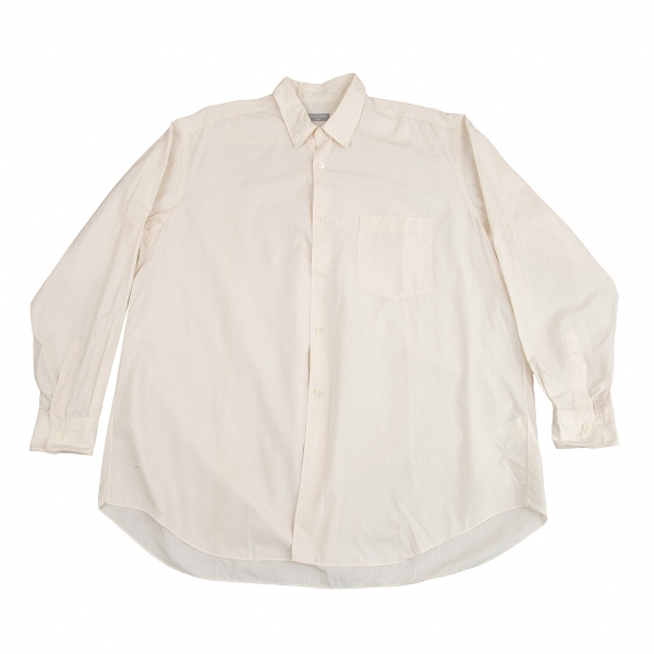 コムデギャルソン オムCOMME des GARCONS HOMME コットンベーシックシャツ クリームM位【中古】 【メンズ】