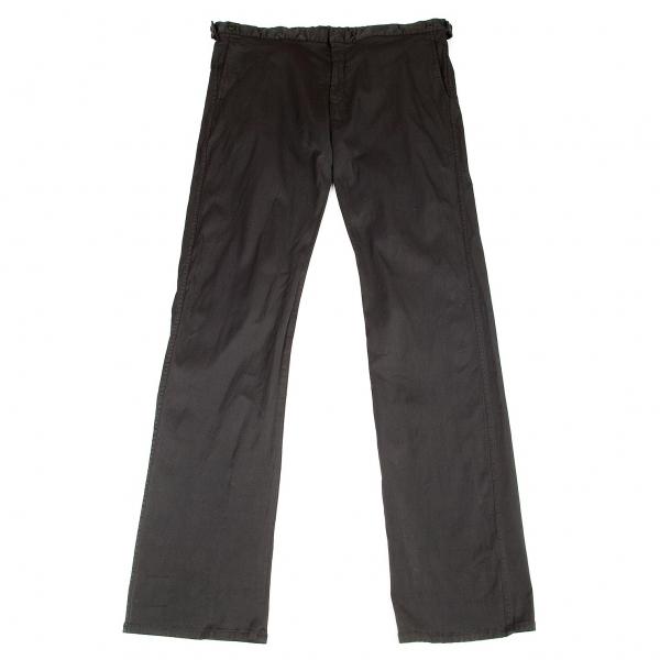限定特価 コムデギャルソン シャツCOMME des GARCONS SHIRT 黒X メンズ 年間定番 製品染めナイロンコットンストレッチパンツ 中古