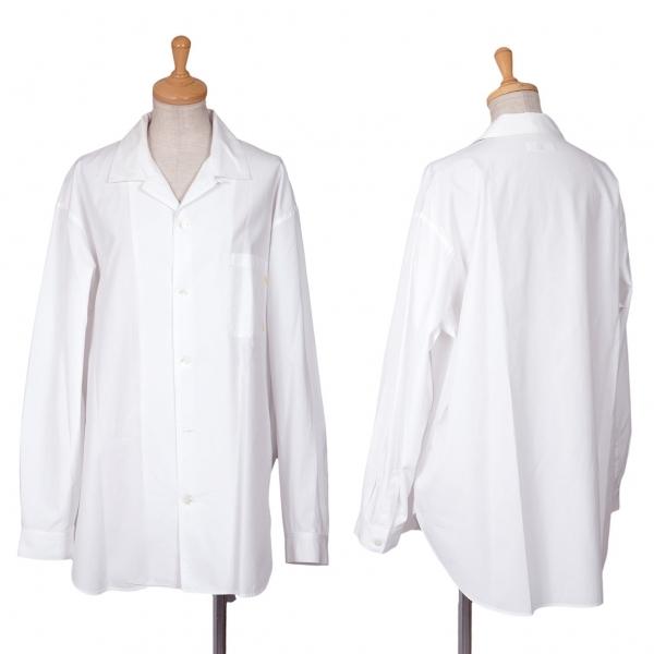 ワイズY's オープンカラーシャツ 白M位【中古】 【レディース】
