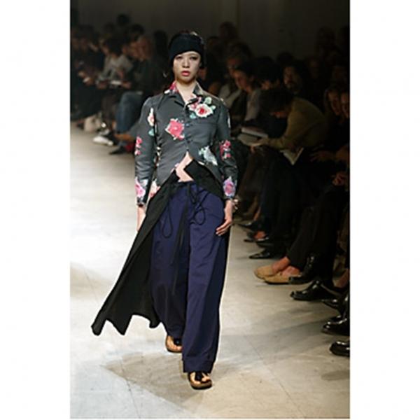ワイズY's ウールギャバギャザーサスペンダー巻きスカート 黒3【中古】 【レディース】